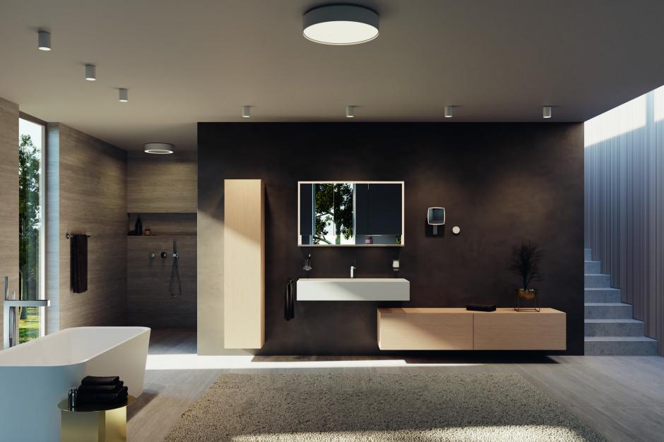 Oświetlenie w łazience: seria do nowoczesnej łazienki