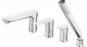 Baterie łazienkowe: nowa seria do salonów kąpielowych