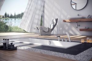 Idealne połączenie designu i funkcjonalności tylko w wannach akrylowych z niskim rantem