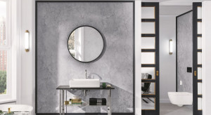 Elegancka łazienka: nowa kolekcja ze szlifem fasetowym