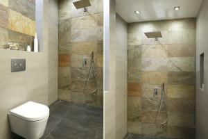 Nowoczesna strefa prysznica: 12 projektów z polskich domów