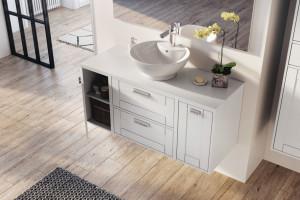 Fronty mebli łazienkowych: 5 świetnych pomysłów