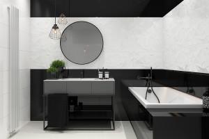 Ciemna łazienka: wybieramy płytki ceramiczne