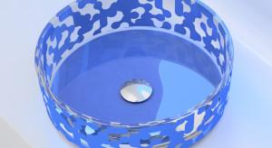 """Umywalki """"Marea"""" zaprojektowane przez Karima Rashida dla Glass Design"""