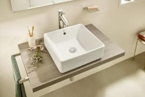 Urządzamy łazienkę: zobacz nową serię umywalek