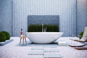 Wanna wolnostojąca: 5 efektownych modeli w białym kolorze