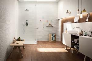 Płytki 3D: 10 kolekcji do łazienek