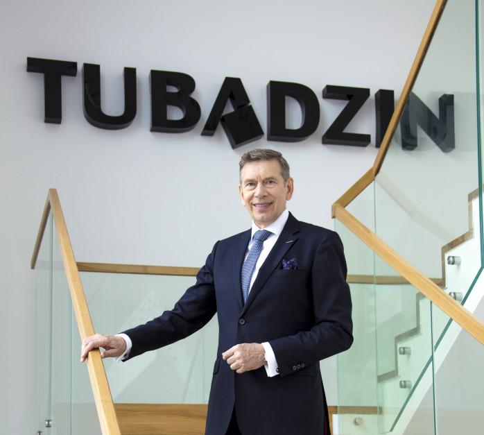 Andrzej Wodzyński, Ceramika Tubądzin: Jestem dumny z tego w jakim tempie rozwija się nasza firma