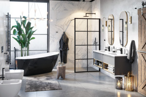 Kabina prysznicowa: 12 modeli do każdego wnętrza