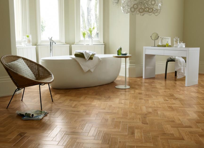 Podłoga w łazience: wybierz panele winylowe