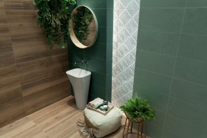 Natura w łazience: nowa kolekcja płytek ceramicznych
