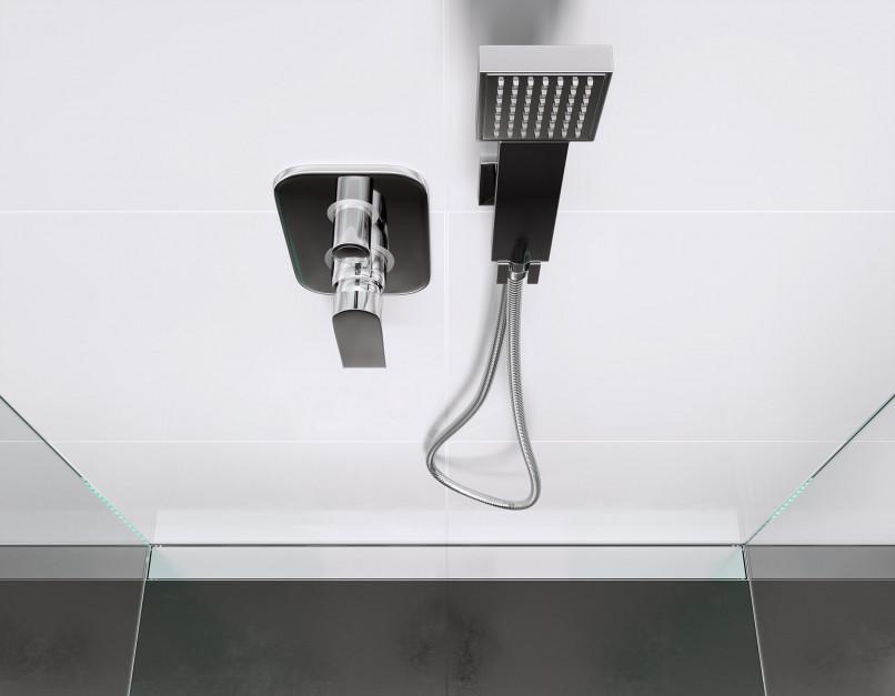 Nowoczesna strefa prysznica: postaw na dyskretny odpływ