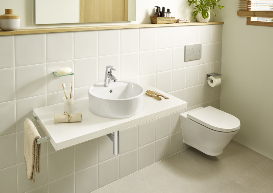 Umywalki nablatowe: 5 okrągłych modeli