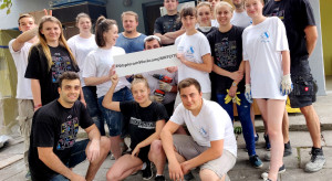 Laveo wsparło studencki remont placówki Wsparcia Dzieci i Rodzin z Łodzi