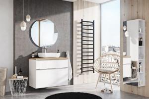 Meble łazienkowe: 15 podwieszanych kolekcji