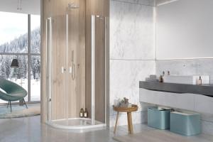 Mała łazienka: wybieramy kabinę prysznicową