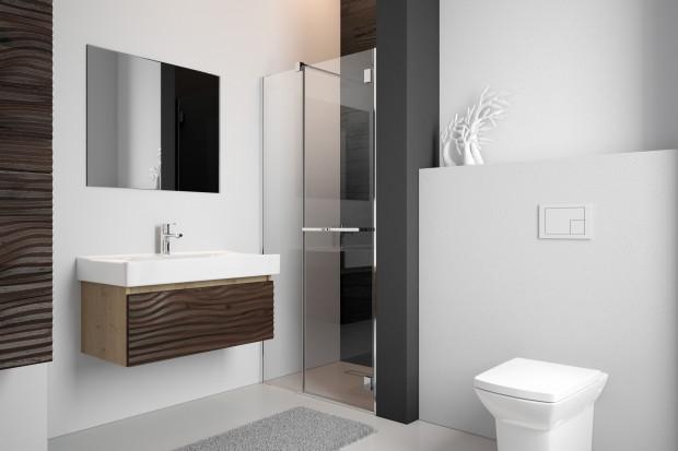 Kabina prysznicowa na miarę małej łazienki