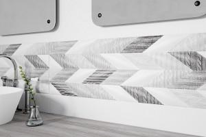 Płytki z dekorem: 5 pięknych wzorów