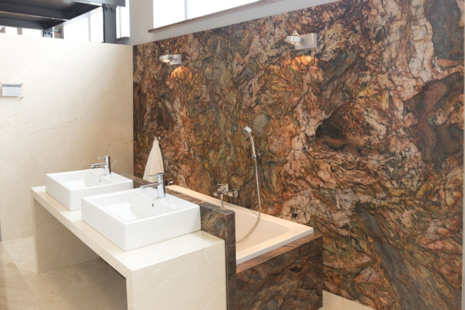 Kamień w łazience: wybierz elegancki marmur