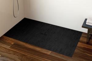 Modna strefa prysznica: postaw na czarny kolor