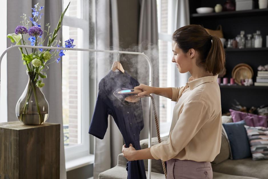 Idealnie wyprasowane ubrania: postaw na generatory pary