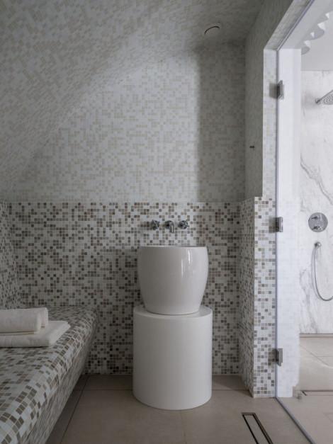 """""""Antyczna"""" łazienka ze strefą SPA"""
