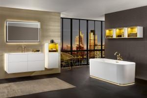 Klimatyczna łazienka: postaw na grę światła i kolorów