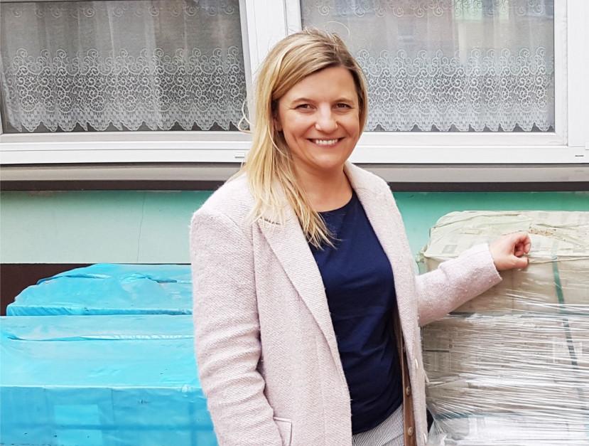 """Małgorzata Matuzewicz, Opoczno: Cieszymy się, że możemy być częścią kampanii """"Ceramic. A safe choice."""""""