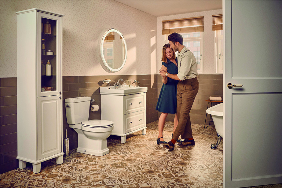 Urządzamy łazienkę w stylu retro: tego będziesz potrzebować
