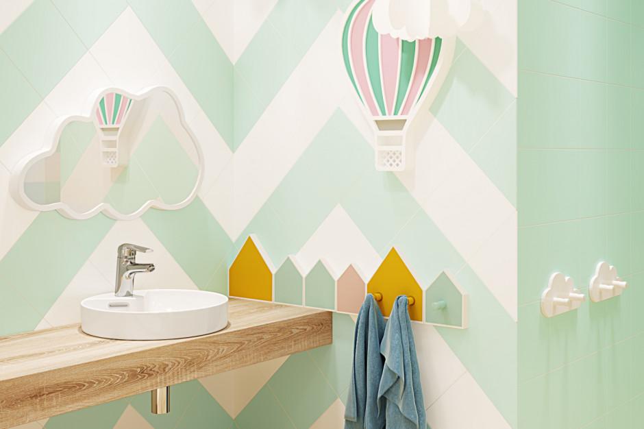 Kolor w strefie umywalki: postaw na orzeźwiające barwy