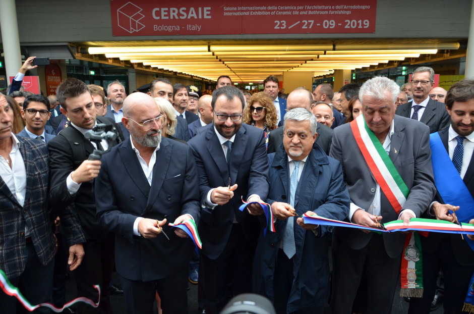 Oficjalne rozpoczęcie targów Cersaie