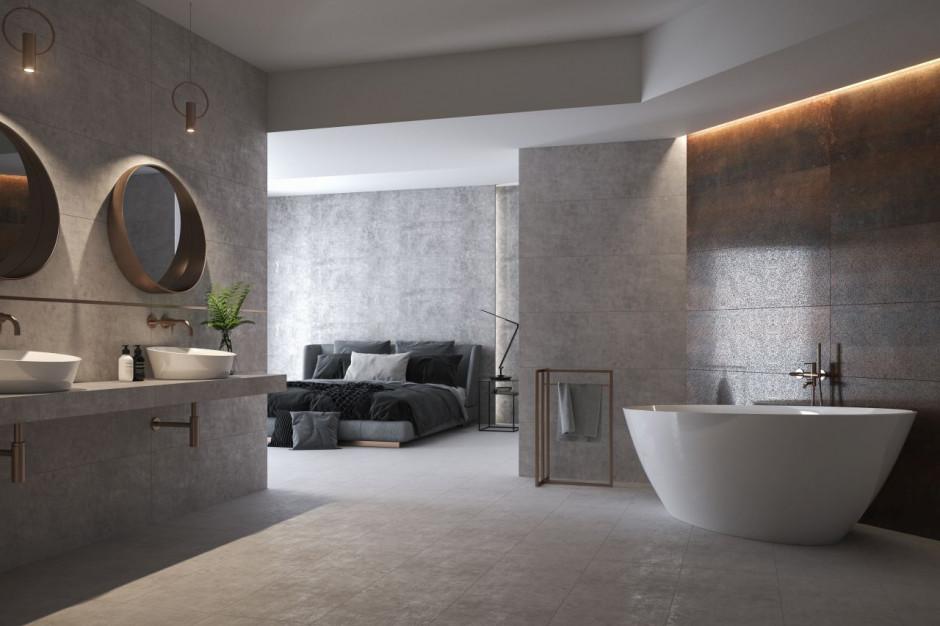 Modny beton i cement w łazience
