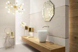 Płytki ceramiczne: modne kolekcje z fakturą 3D