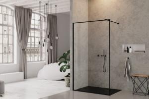 Kabina prysznicowa: 5 modeli w modnej czerni