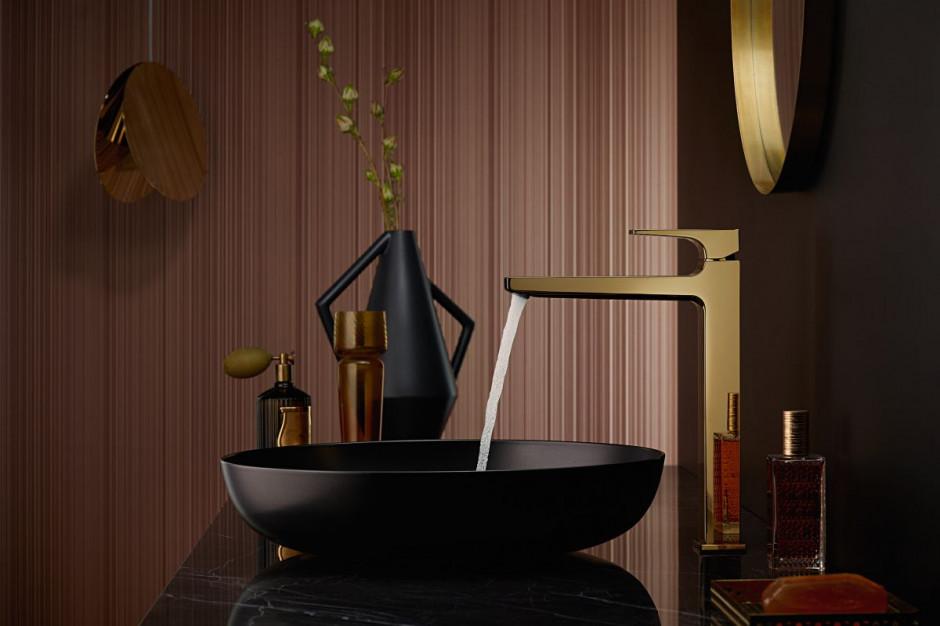 Modna strefa umywalki: baterie z efektem