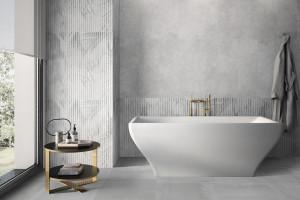 Relaksująca łazienka: nowe kolekcje płytek w spokojnych barwach