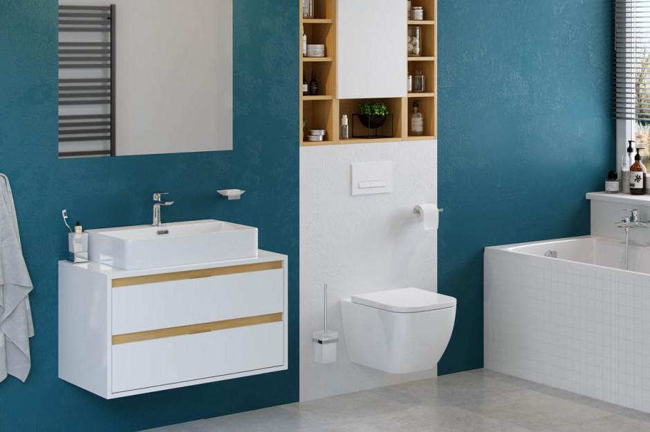 Strefa umywalki: postaw na praktyczną szafkę
