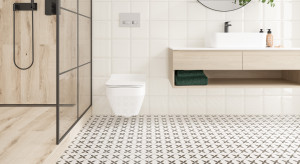 Wzorzyste płytki w łazience: zobacz nowe kolekcje polskiej marki!