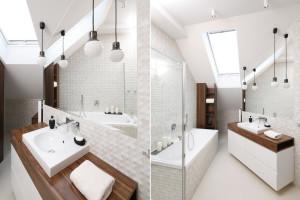 Biała łazienka: 12 projektów z polskich domów