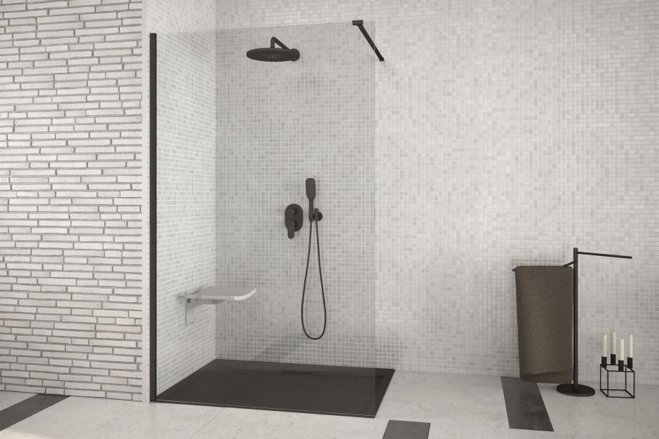 Czarne kabiny prysznicowe: czy trend przekłada się na zainteresowanie klientów?