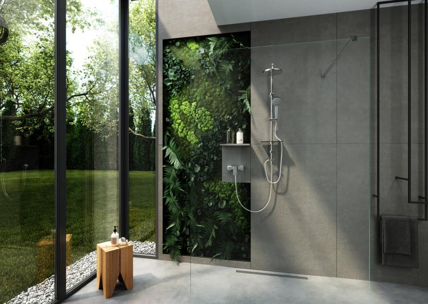 Relaks pod prysznicem: postaw na minimalizm