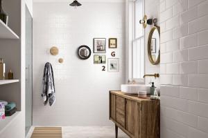 Płytki jak stare kafle w łazience: zobacz pakiet inspiracji