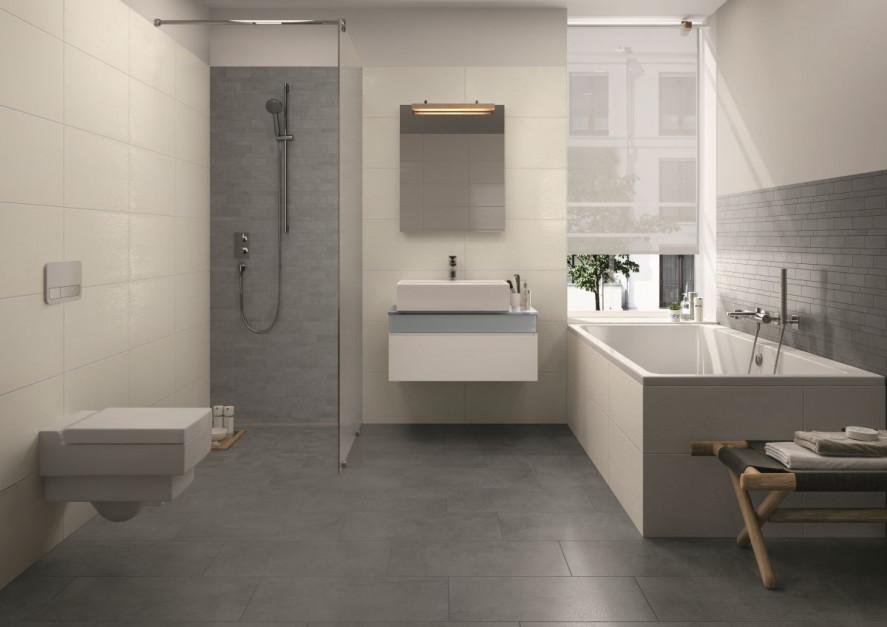 Ponadczasowa łazienka: postaw na płytki jak kamień