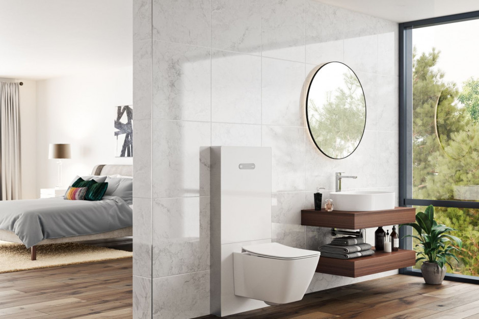 Estetyczna łazienka - postaw na systemy podtynkowe