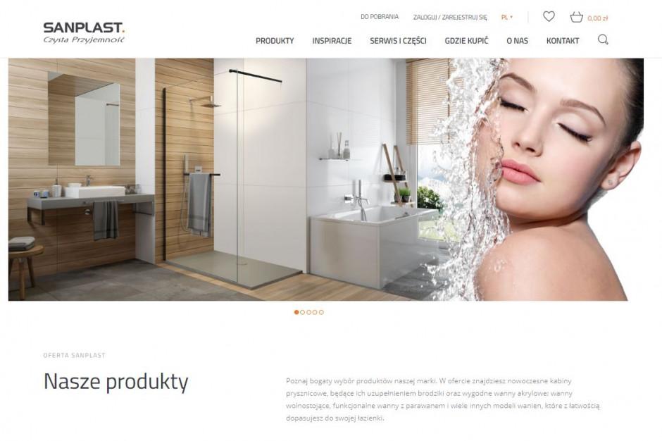Sanplast z nową stroną internetową