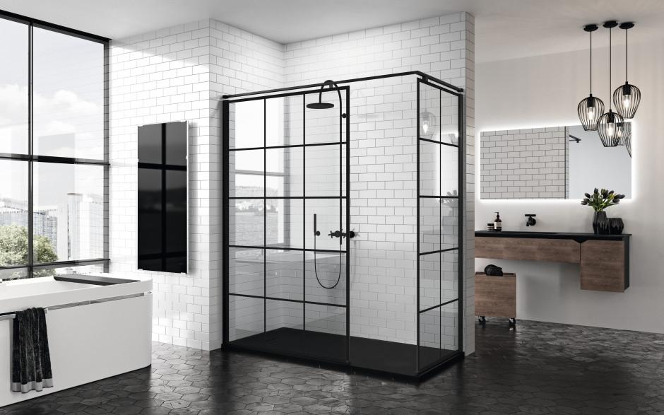 Czerń w łazience: zobacz świetne pomysły