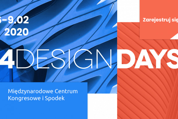 Przed nami 4 Design Days 2020. Zarejestruj się i weź udział w święcie designu!
