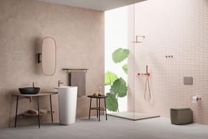 Baterie łazienkowe: podsumowujemy kolorystyczne trendy 2019