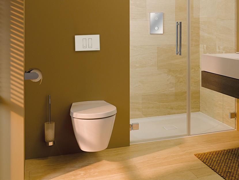 Podtynkowy model montażowy do WC