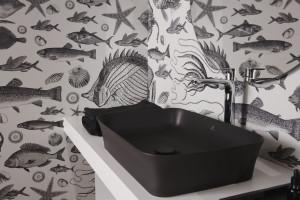 Trendy 2020: klasyczne formy i czerń w strefie umywalki